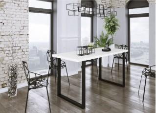 Stół do jadalni IMPERIAL 138/90 Biały