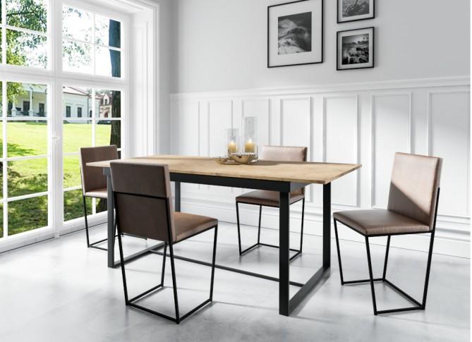 Stół LARSEN 120-160cm rozkładany prostokątny PM