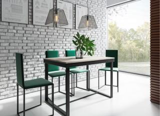 Stół rozkładany Larsen 140-180cm industrialny do jadalni PM