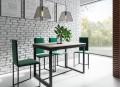 Stół prostokątny rozkładany 160-200cm w stylu loft LARSEN PM