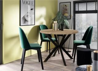 Stół EDDER loftowy rozkładany 100-180cm PM